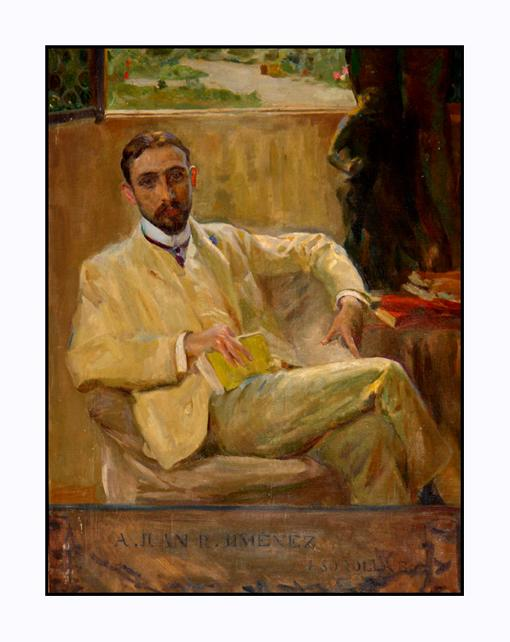 Retrato de Juan Ramón Jimenez por Sorolla a inicios de 1900
