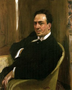 Antono Machado por Joaquín Sorolla (1917)Hispanic Society of America (New York)